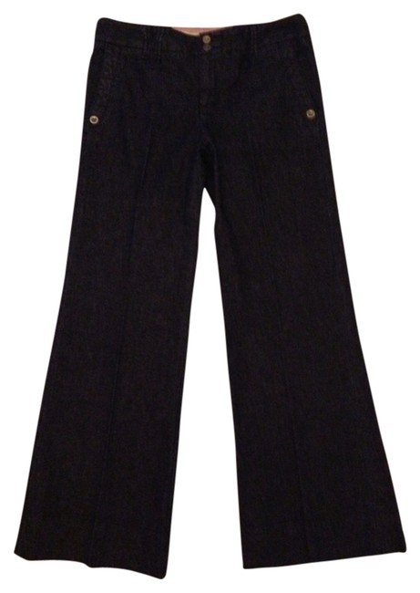 Daughters of the Liberation Trouser/Wide Leg Jeans-Dark Rinse
