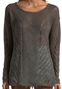 Elizabeth and James Pointelle Relax Fit Sweater