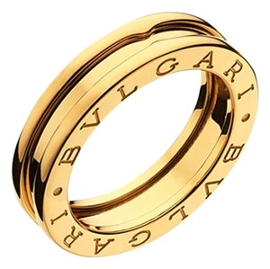 BVLGARI BVLGARI B.ZERO1 RING 1 BAND YELLOW GOLD AN852260