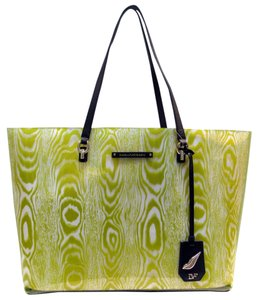 Diane von Furstenberg Dvf Travel Tote in Citrine (yellow/green)