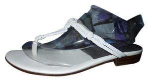 Cole Haan Leather Thong white Sandals