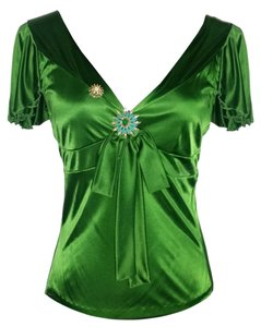 Christian Lacroix Top Green