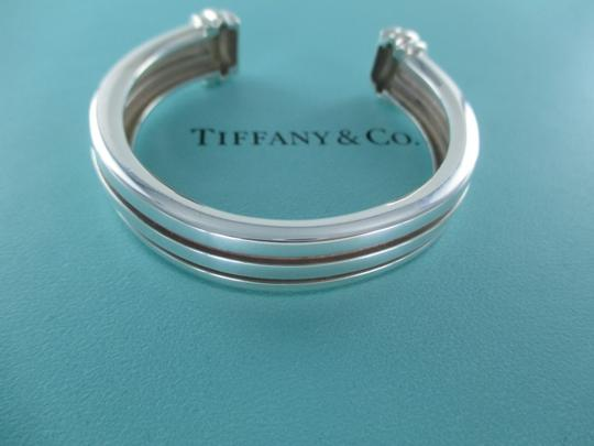 Tiffany & Co. TIFFANY & CO ATLAS STERLING SILVER BRACELET CUFF 1995 OPEN BANGLE 46.1 DWT JEWEL