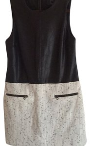 Dolce Vita short dress Black/with white and black bottom on Tradesy