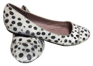 Pink & Pepper Black and white dotted Flats