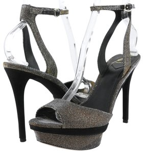 Brian Atwood Femmefatal Silver Multi Multi-Color Sandals