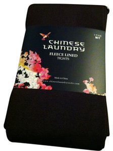 Chinese Laundry Fleece Lined Footed Chocolate Leggings