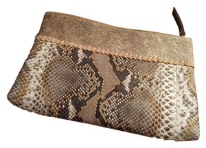 Fig Tree Jewelry & Accessories animal and python print Clutch
