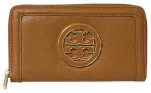 Tory Burch TORY BURCH Amanda Leather Zip-around Continental Wallet