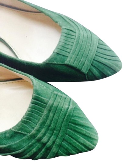 Preload https://item1.tradesy.com/images/zara-green-essential-effortless-chic-for-fall-flats-size-us-7-regular-m-b-1247595-0-2.jpg?width=440&height=440