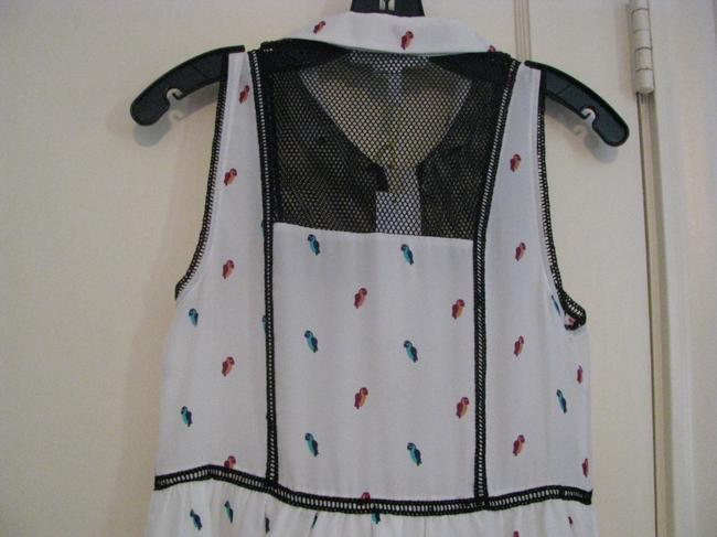 BCBGMAXAZRIA short dress White and Black on Tradesy