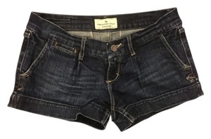 Abercrombie & Fitch Mini/Short Shorts Dark denim