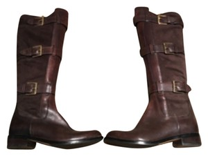 Cole Haan Riding Brown Size 7 Dark brown Boots