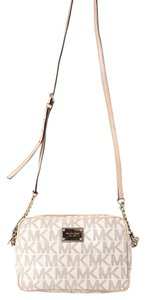 Michael Kors Jet Set Goldtone Hardware Cross Body Bag