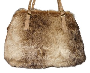 Olivia + Joy Oliva And Faux Fur Shoulder Bag