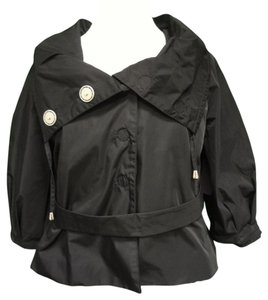 Votre Nom Cropped Motorcycle Jacket