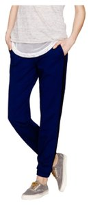 J.Crew Relaxed Pants Blue, black