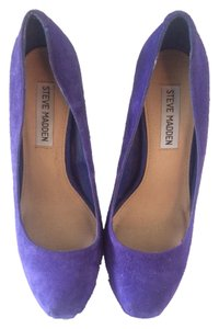 Steve Madden Date Date Night Night Out Casual Spring Blue Pumps