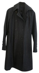 Theory Wool Fall Knee Length Coat