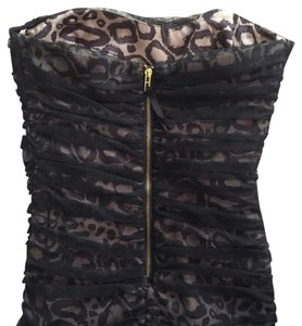 A|X Armani Exchange Edgy Date Night Night Out Dress