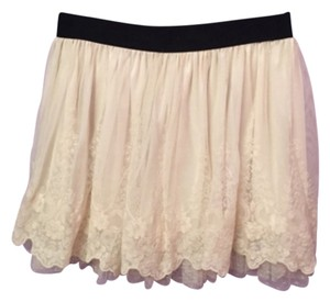 American Rag Mini Skirt Beige