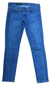 J.Crew Toothpick Ankle Denim Skinny Jeans-Medium Wash