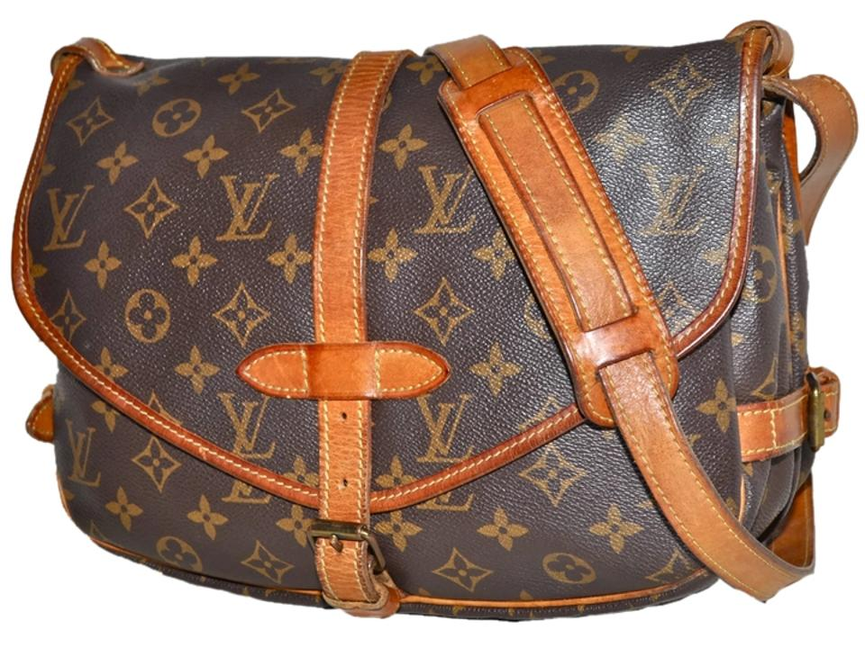 Louis Vuitton Saddle Saddle Handbag Purse Pocketbook Shoulder Shoulder  Double Flap Double Sided Two Sided Boho ... 015eabcb53a1d
