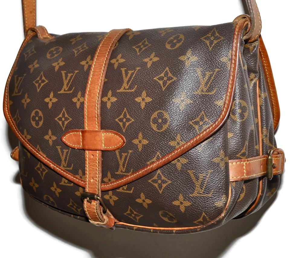 Louis Vuitton Saddle Saddle Handbag Purse Pocketbook Shoulder Shoulder  Double Flap Double Sided Two Sided Boho. 12345678 856ea92f42578