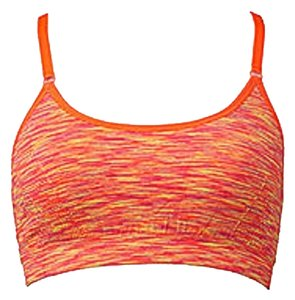 Forever 21 New FOREVER 21 Sports Orange Space Dye Bra Large