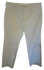 Banana Republic Petite 2p Lined Classic Trouser Pants Ivory
