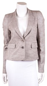 Juicy Couture Metallic Silver Blazer