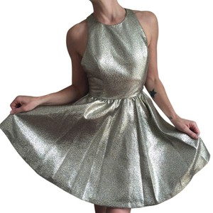 Alice + Olivia + & Silver Party Cocktail Dress