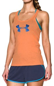 Under Armour Breathable Exercise Workout Top Orange