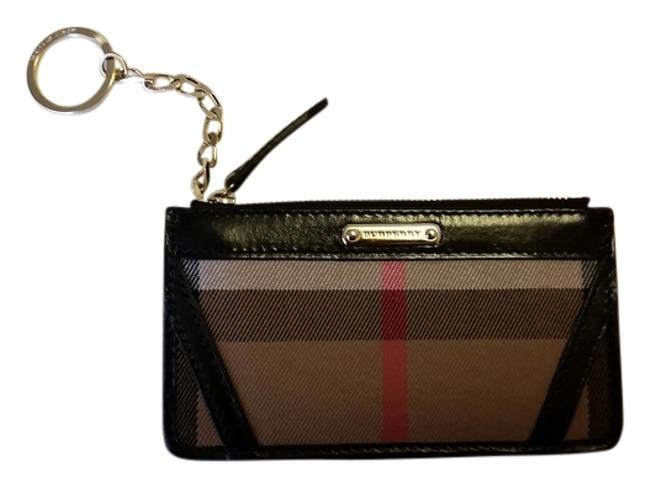 Item - Black Coin Purse with Keychain Wallet