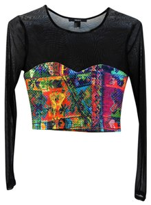 Forever 21 80's Mesh Top Multi (all rainbow colors)