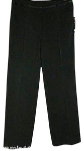 I.N. Studio Petite Size 10p New With Tag Dress Slacks Stretch Career Day To Evening Trouser Pants Black