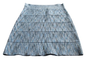 BCBGMAXAZRIA Bcbg Bandage Skirt Black/Blue/White