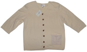 CJ Banks Made In Japan Shirt Button Down Shirt beige