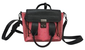 3.1 Phillip Lim Satchel in Pink and Black