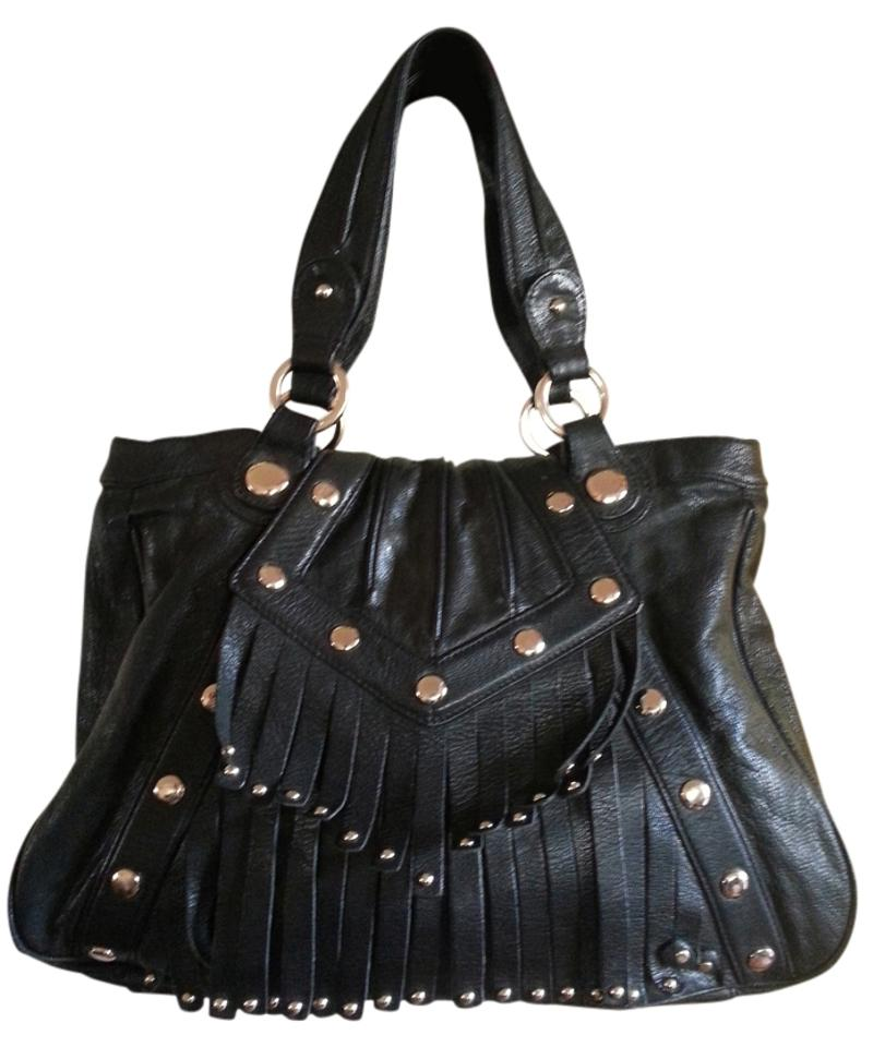 Junior Drake Purse Handbag Wendy Leather Studded Shoulder Bag