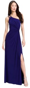 JS Boutique One Shoulder Jewel Tone Dress