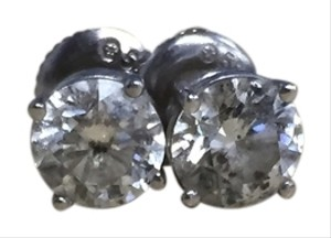 Round Brilliant Diamond Earrings-REDUCED!!!!