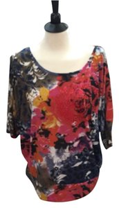Da Moda By Priority Top Multi floral