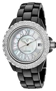 Swiss Legend Swiss Legend 20051-wbkwsr Womens Karamica Diamonds Black High-tech Ceramic