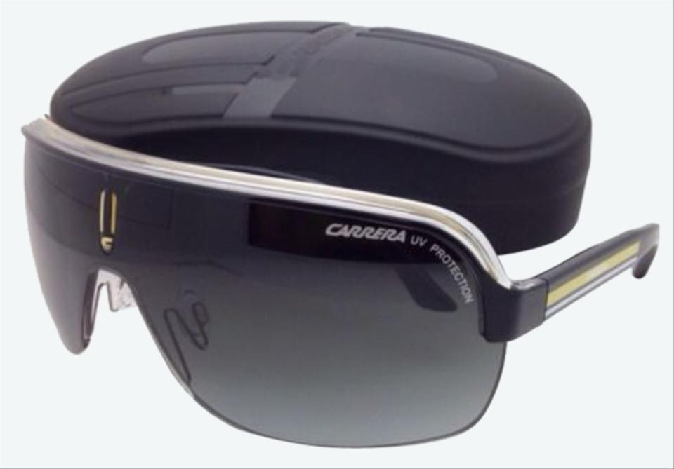 Carrera Topcar1 Kbnpt Black Crystal Yellow Frame W Grey Gradient
