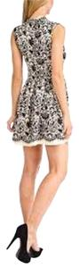 dex clothing short dress Black and Ivory on Tradesy
