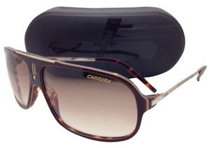 Carrera New Sunglasses CARRERA COOL/S CSV ID 65-12 Brown Havana & Gold Frame w/ Brown Lenses