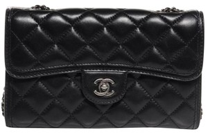 Chanel Citizen Zip Mini Woc Flap Cross Body Bag