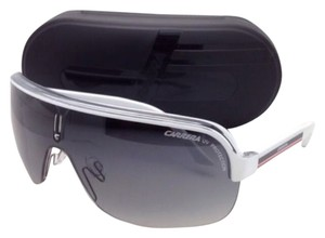 Carrera New Sunglasses CARRERA TOPCAR1 KC0VK 99-04 White Frames w/Gray Lenses