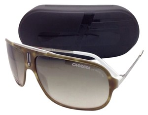 Carrera New CARRERA Sunglasses COOL/S F80 DB 65-12 Olive Havana & White Frame w/ Brown Grey Gradient Lenses